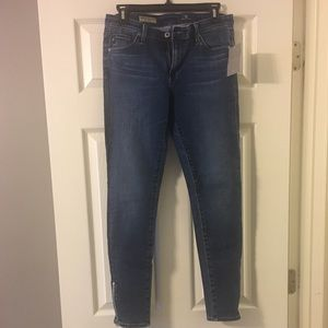 AG Jeans- The Zip-Up Legging Ankle- Size 28